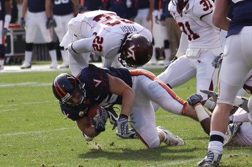Commonwealth Cup Virginia VTech football rivalry