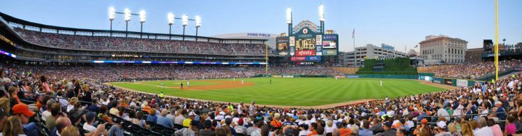 Comerica Park Daytime