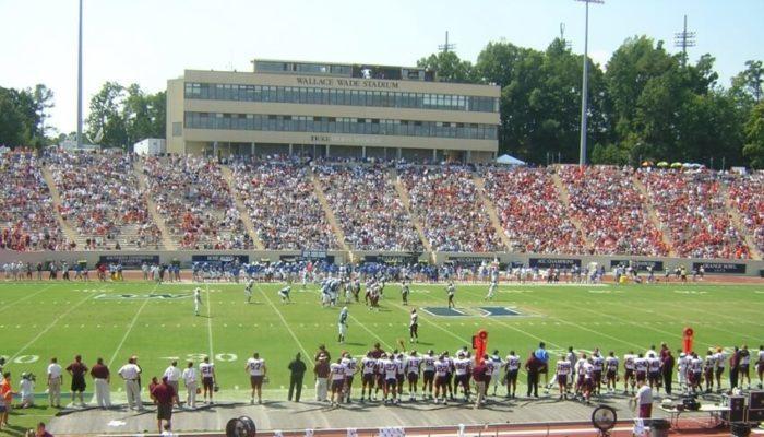 Duke University football game