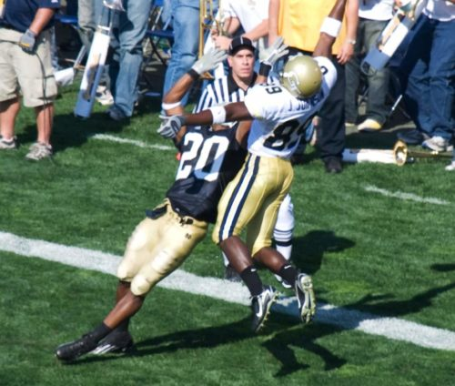 Georgia Tech vs Notre Dame football game