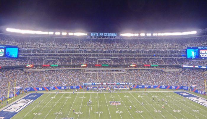 New York Giants game at MetLife Stadium