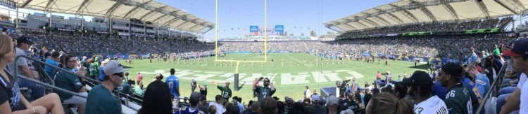Los Angeles Chargers StubHub Center