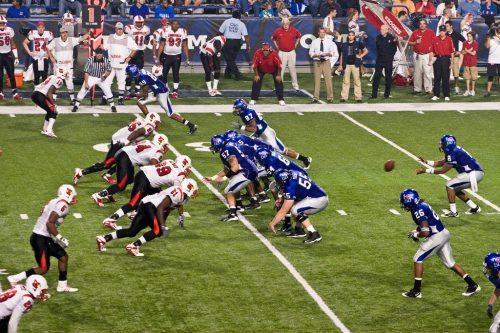 Louisville vs Memphis football game