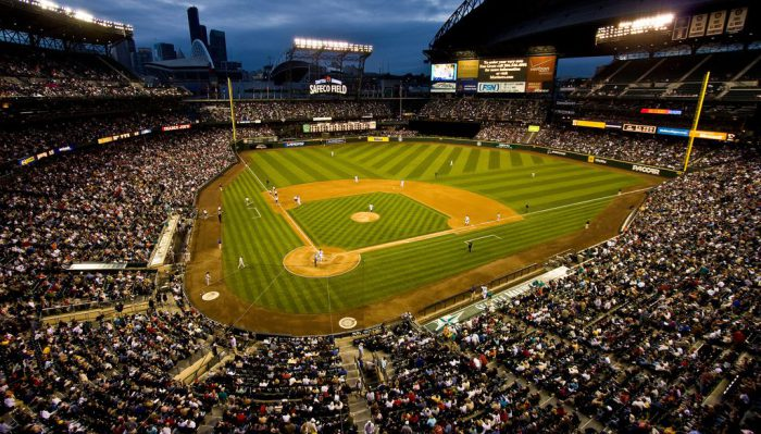Wide View of Safeco Field T Mobile Park