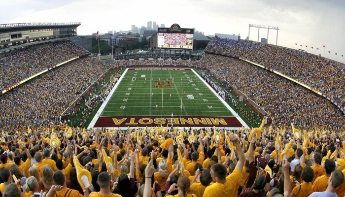 Minnesota Gophers TCF Bank Stadium