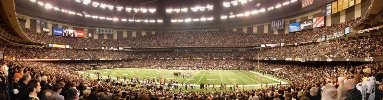 New Orleans Saints Mercedes Benz Superdome