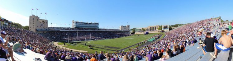 Home of the Northwestern Wildcats Ryan Field