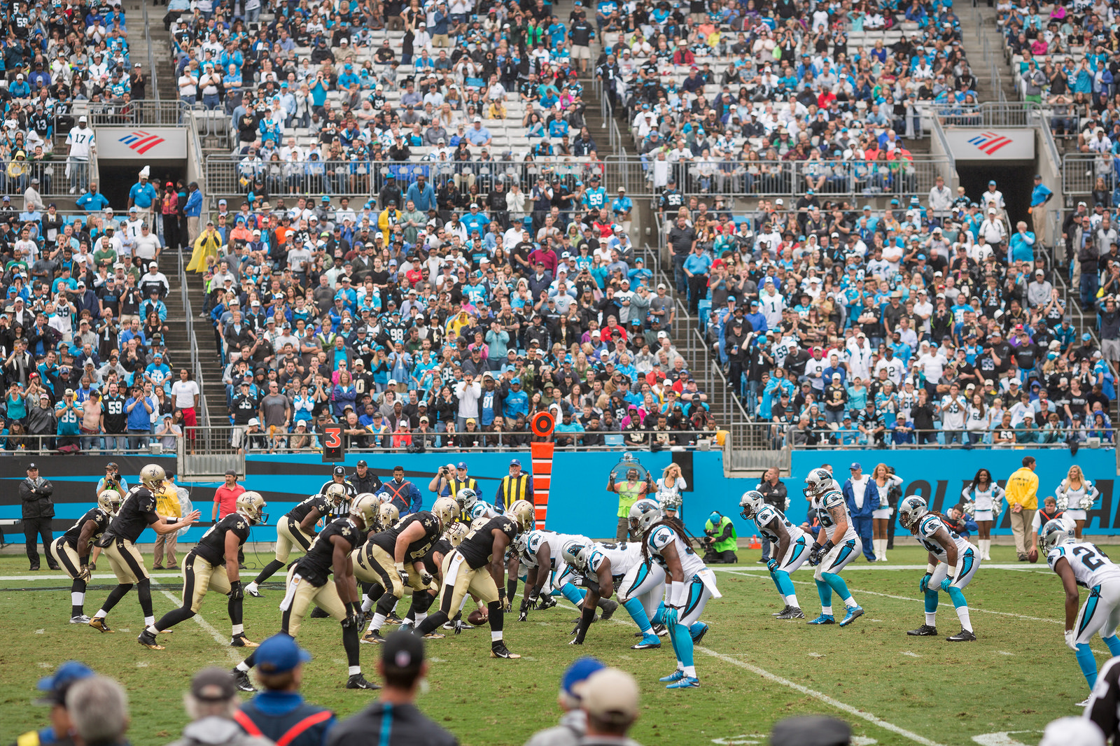 Carolina Panthers vs New Orleans Saints