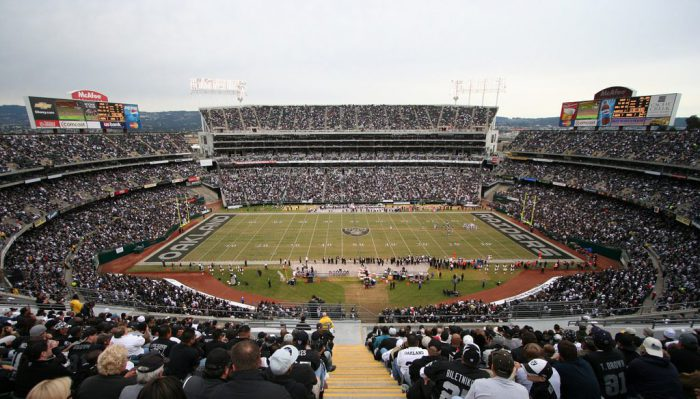 NFL Raiders at Oakland Alameda County Coliseum