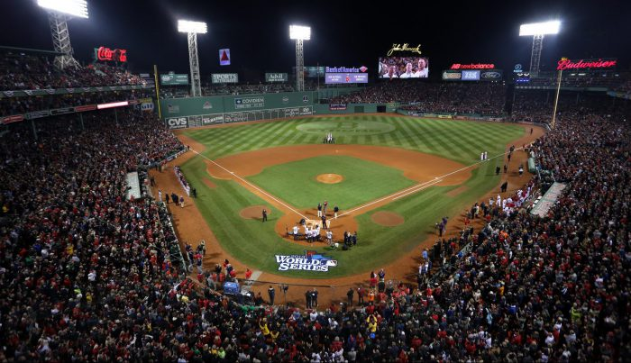 Boston Red Sox National Anthem before Game six of the World Series
