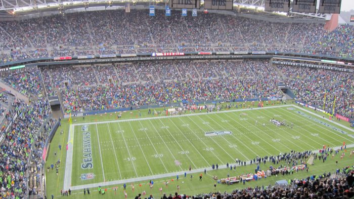Home of the Seattle Seahawks at CenturyLink Field