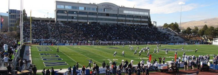 Home of the Nevada Wolf Pack Mackay Stadium