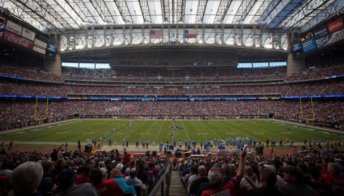 Houston Texans game at NRG Stadium