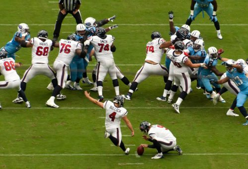 Houston Texans vs Tennessee Titans