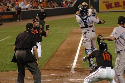 Blue Jays vs Baltimore Orioles baseball game