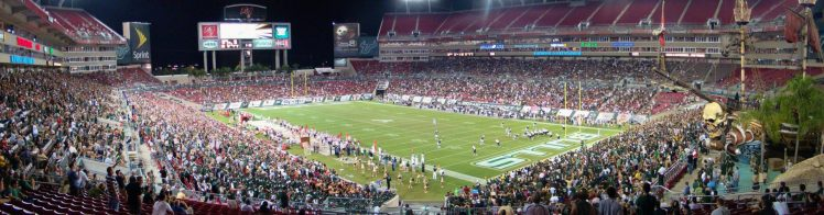 Home of the South Florida Bulls Raymond James Stadium