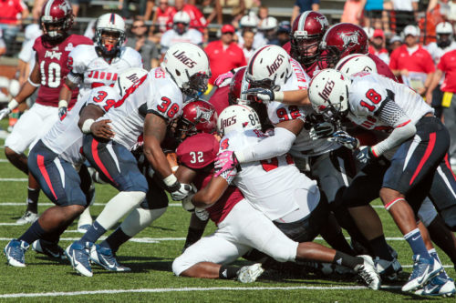 South Alabama Jaguars vs Troy Trojans football game