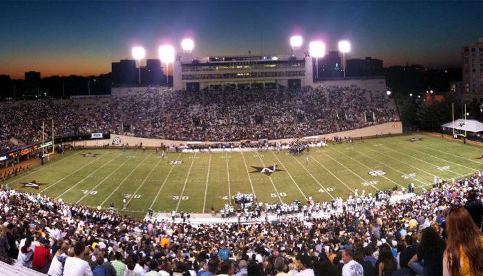 Vanderbilt Stadium Commodores football