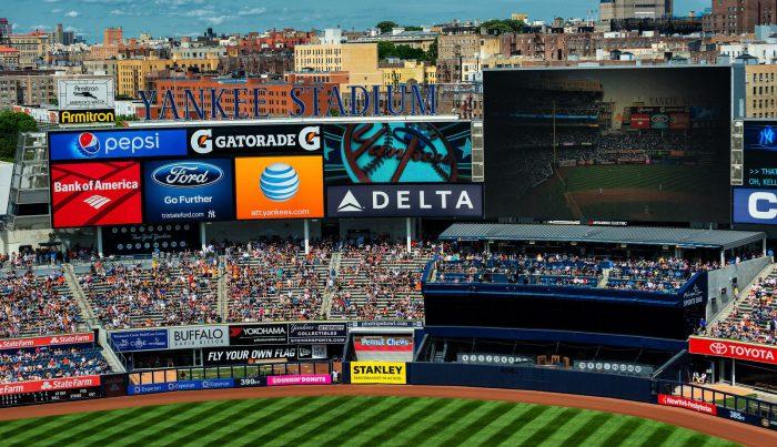 Yankee Stadium Jumbotron