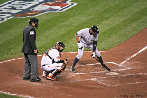 Yankees vs Orioles baseball game