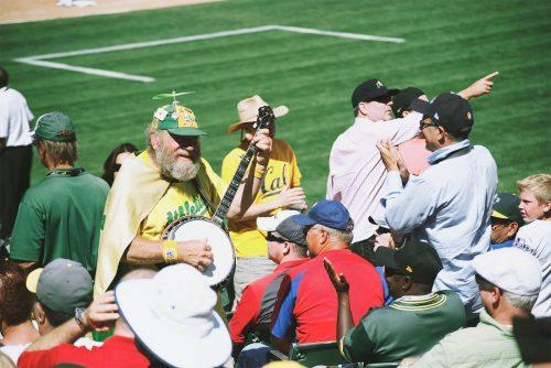 Banjo Man Oakland Athletics