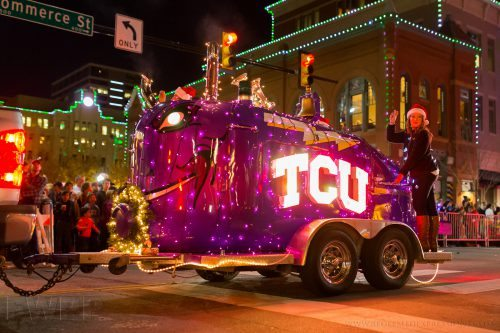 Energy Parade of Lights TCU Horned Frogs