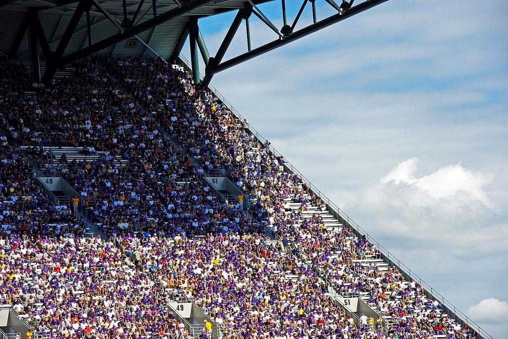 UW Husky fans football