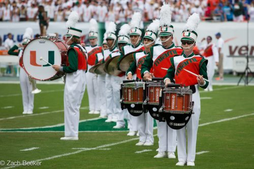 Band of the Hour Miami Hurricanes