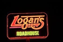 Logans Roadhouse signage