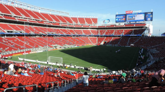Home of the San Francisco 49ers Levis Stadium