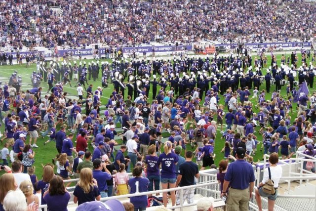 Bleacher Creatures TCU Horned Frogs