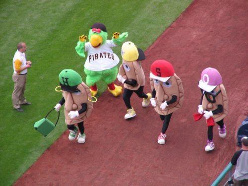 Pierogi Race Pittsburgh Pirates