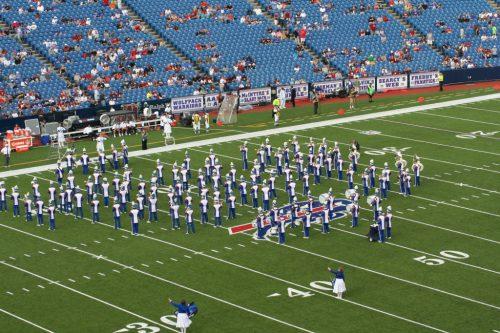 Buffalo Bills Marching band