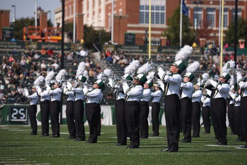 Pride of Niner Nation Marching Band Charlotte