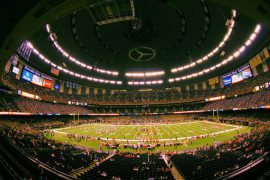New Orleans Saints Ring of Honor at Mercedes Benz Superdome