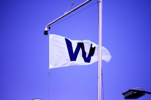 W Flag Chicago Cubs