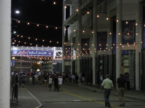 Rally Alley Cleveland Indians