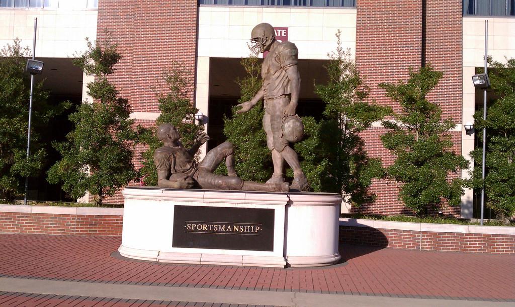 Sportsmanship Statue Florida State Seminoles