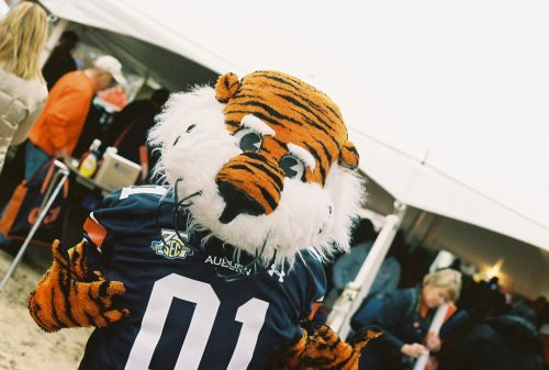 Aubie the Tiger mascot of Auburn Tigers