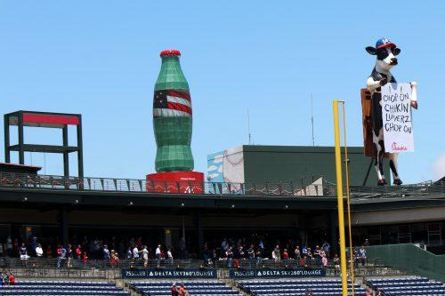 Bottle Cap A Atlanta Braves