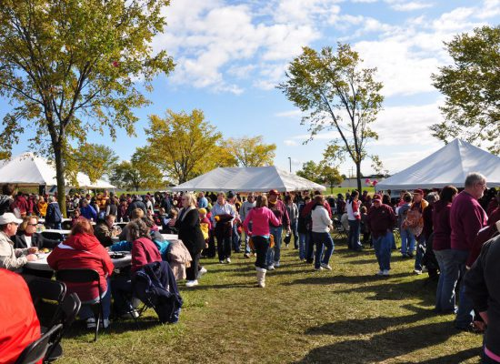CMU Chippewas football fans tailgating
