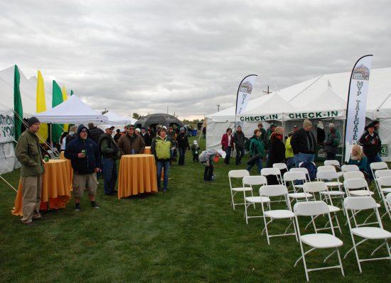 Colorado State Rams tailgate party
