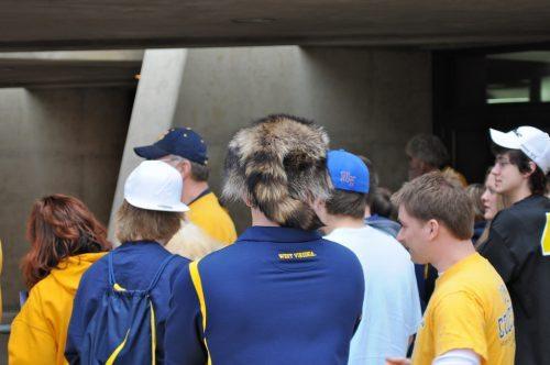 WVU Mountaineers fans