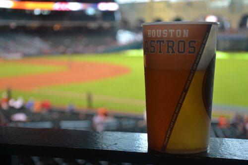 Houston Astros stadium drink