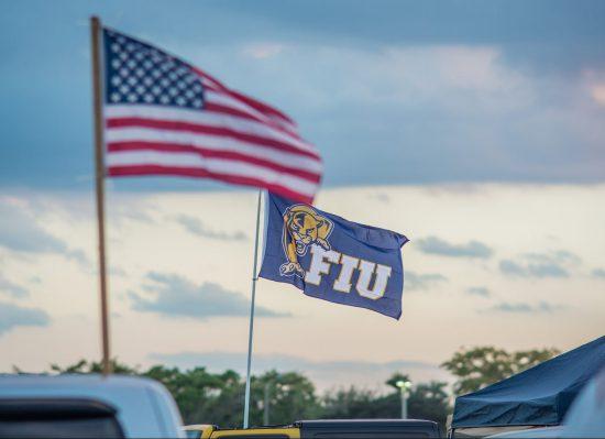FIU Panthers flag