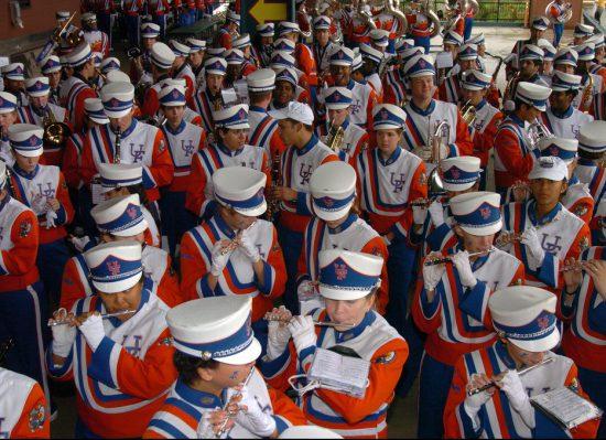 Florida Gators marching band