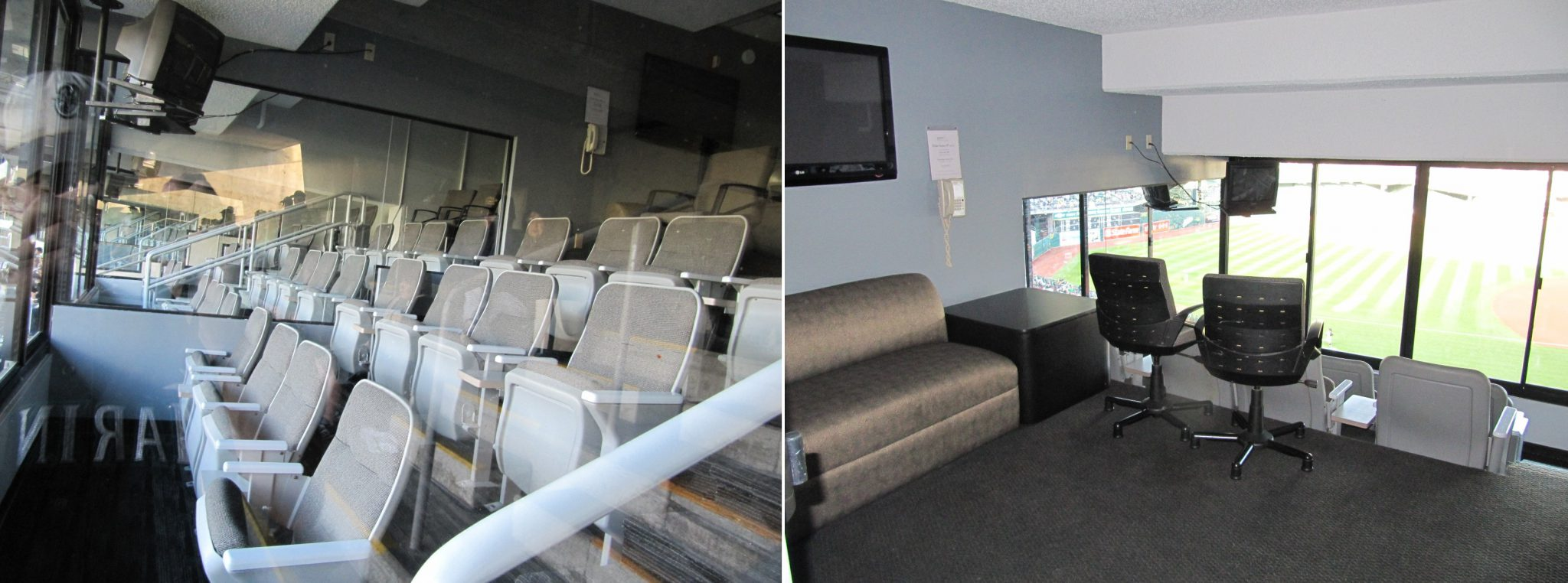 Oakland Alameda County Coliseum luxury suite