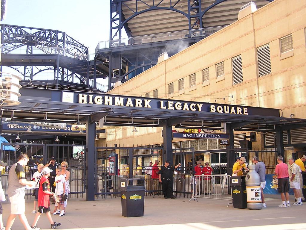 Highmark Legacy Square Entrance PNC Park