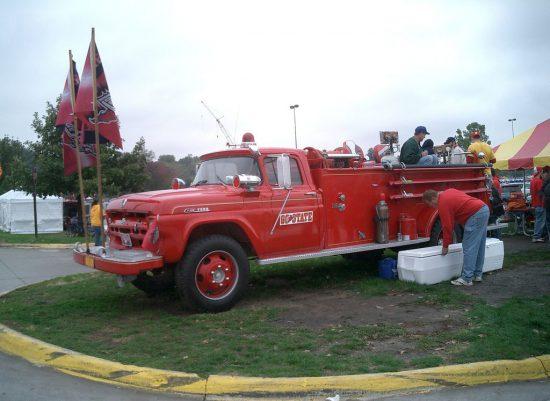 Iowa State Cyclones truck