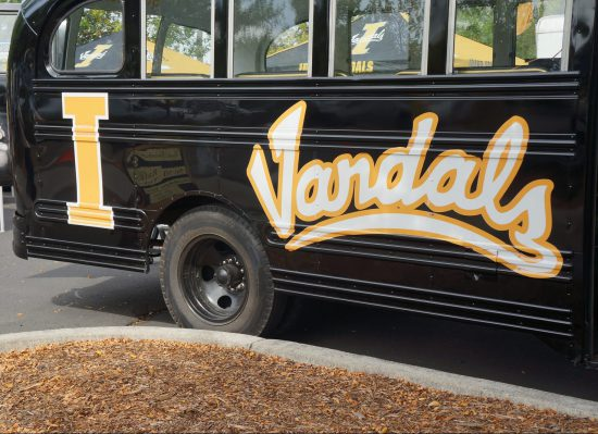 Idaho Vandals bus